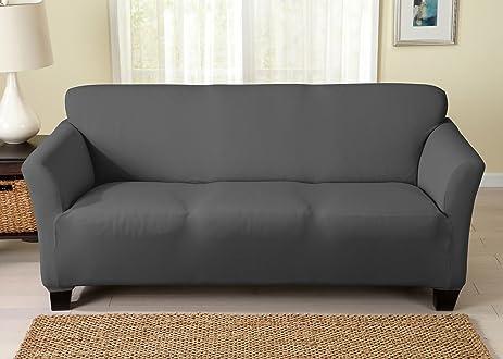 Dawson Collection Twill Slipcover (Sofa, Grey)