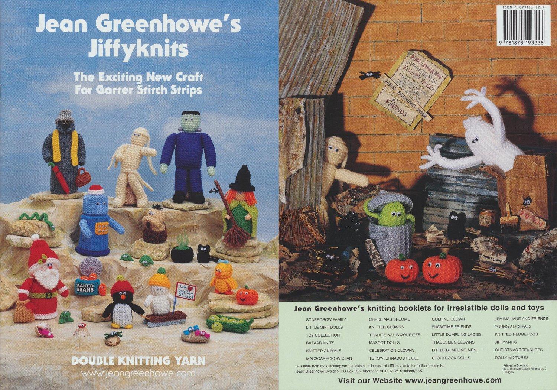 Jean Greenhowe's Jiffyknits - Knitting Patterns