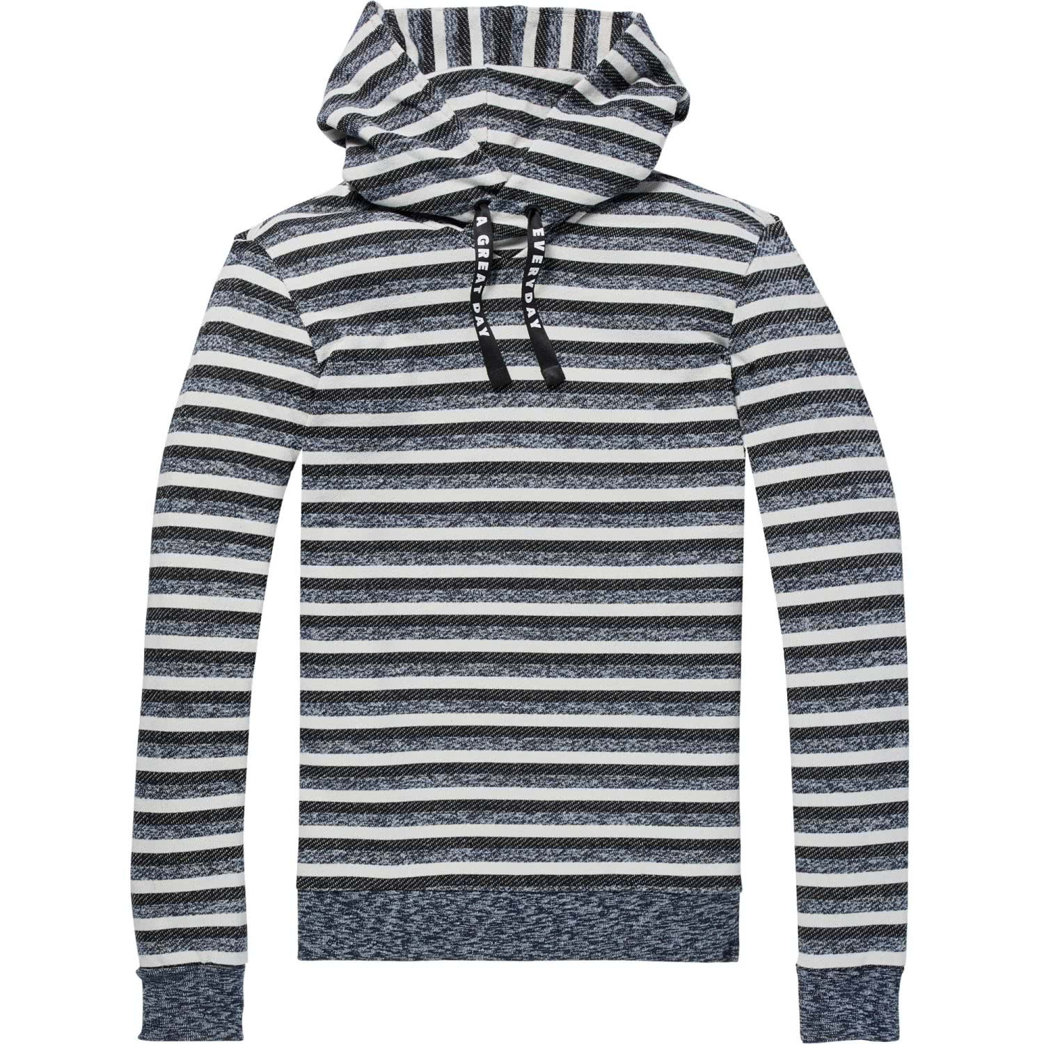 Scotch & Soda Mens Hoodie in Multicolor Melange Felpa Quality