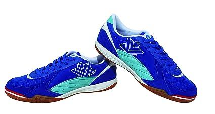 Luanvi FS PRO - Zapatillas de Fútbol Sala, Unisex Adultos, Azul, 39