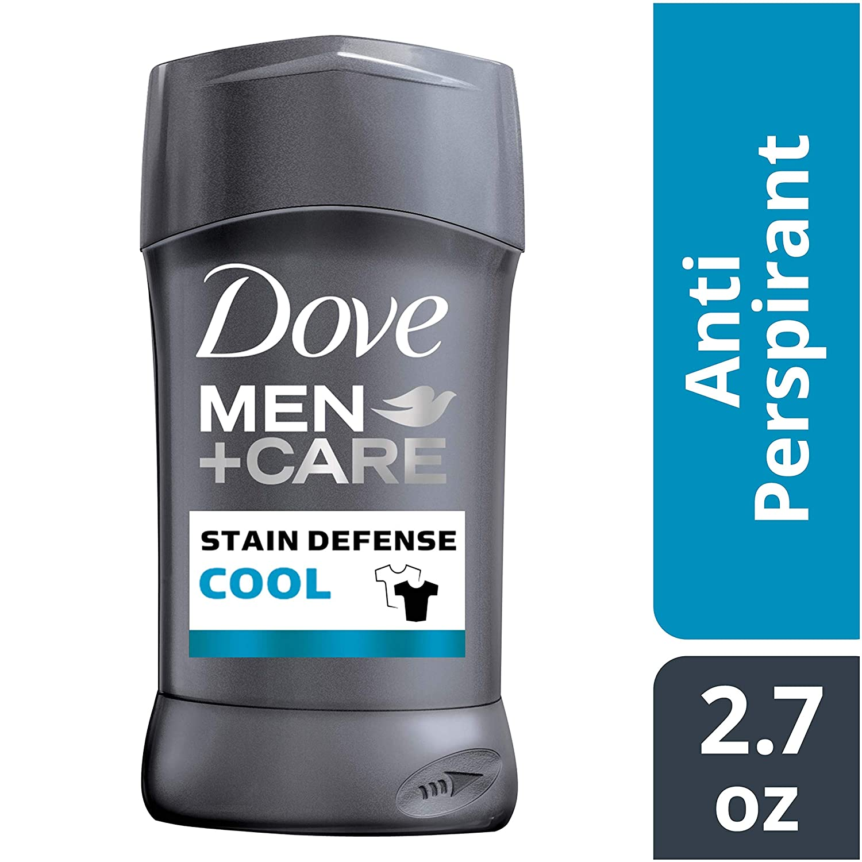 Dmc Deo Dove Men+care Antiperspirant Deodorant Stick, Stain Defense Cool, 2.7 Ounce