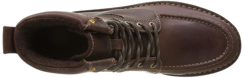 Clarks Herren Sawtel Leather) Kurzschaft Stiefel Braun (Brown Leather) Sawtel bcc0de