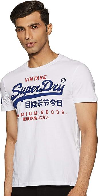 Superdry Premium Goods Duo Lite tee Camiseta para Hombre