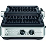 Breville Sear & Press Grill Counter top Grill, Brushed Stainless Steel, BGR710BSS4JAN1