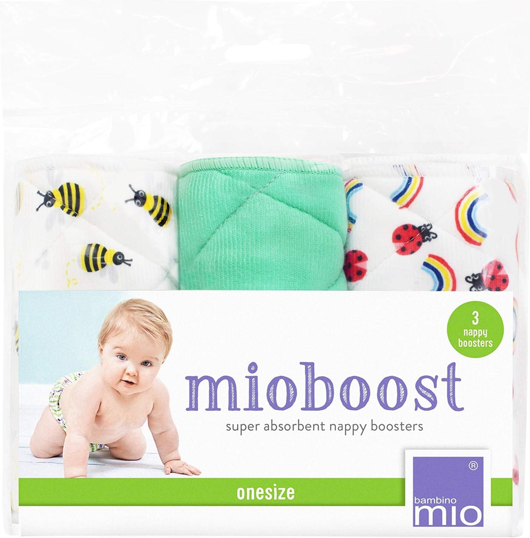 Absorbente para pa/ñal Mioboost Paquete de 3 Uds Bambino Mio Abejita Dulce
