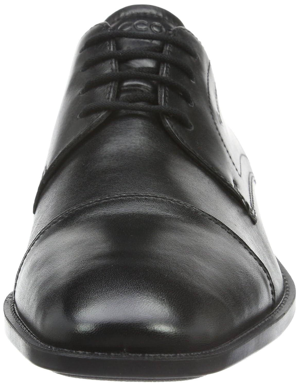 ECCO Men's Edinburgh Cap Toe Gore-Tex Derby Shoes: Amazon.co.uk: Shoes &  Bags