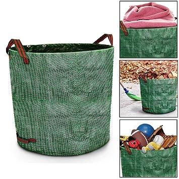 wior 3 - unidades 72 galones jardín bolsa de basura bolsas ...