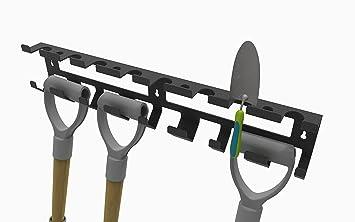 storetidy - Caseta de jardín - Soporte de montaje de pared para herramientas de jardín, jardín pala, horquilla, herramientas: Amazon.es: Coche y moto