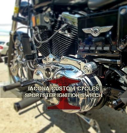 Incredible Amazon Com Harley Davidson Sportster Ignition Switch Kit Car Wiring Digital Resources Millslowmaporg