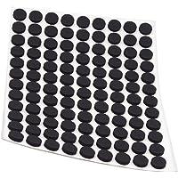 Adsamm ASP-25-SA-BL-10-108-1 ASP-25-SA-BL-10-108 108 anti-slip pads van EPDM, zwart, Ø 10 mm