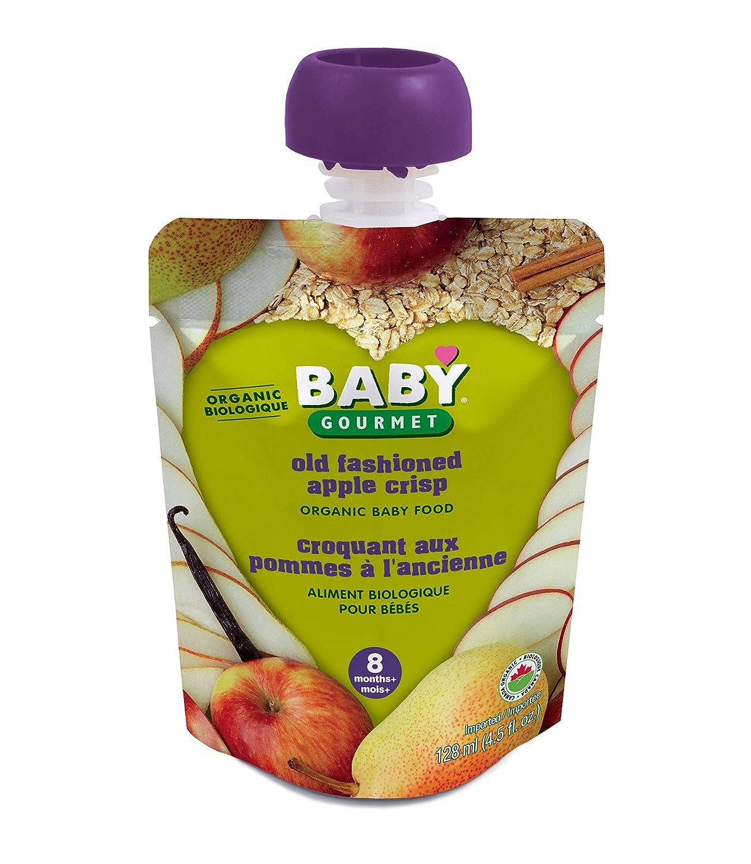 Baby Gourmet Old Fashon Apple Crisp, 12-Pack Baby Gourmet Foods Inc OFAC4BGCSCD0012