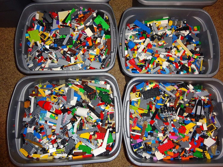 4 Pounds Bulk Lot! Random Parts, Pieces & Bricks