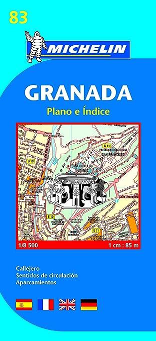 Plano Plegable España Granada: plano e indice (Planos Michelin): Vv.Aa, Vv.Aa: Amazon.es: Belleza