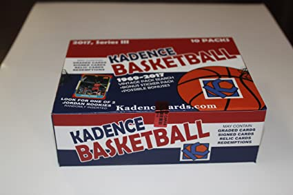 2017 Vintage Pack Search 90 Unopened Basketball Cards Series Iii