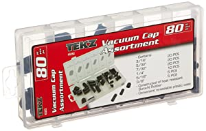 Titan 80 Piece Vacuum Cap Assortment