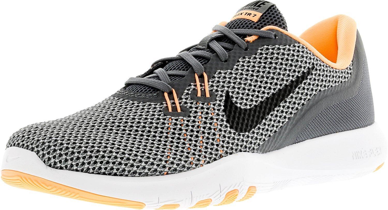 Nike Women's Flex Trainer 5 Shoe B01LPGN3HO 7.5 B(M) US|Cool Grey/Black/Sunset Glow