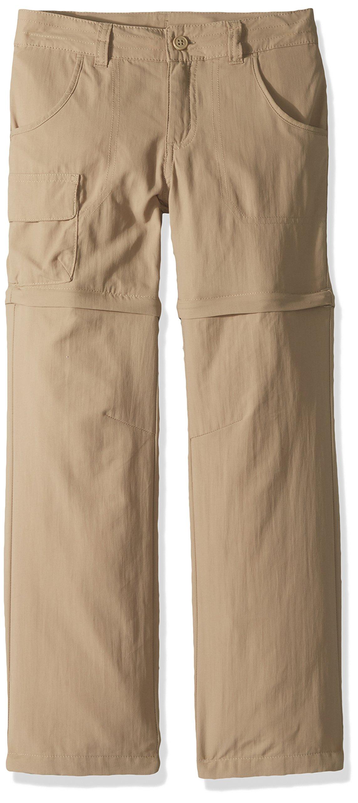 Columbia Boys' Silver Ridge III Convertible Sun Pants, Moisture Wicking