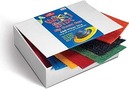 WikkiStix Gran Caja de Contar con: Amazon.es: Juguetes y