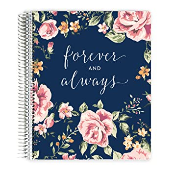 Premium Wedding Planner Organizer Engagement Gift Always And Forever 12 Organized