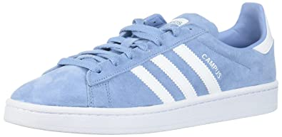 buy popular 83ea2 1c5ef adidas Men s Campus, Ash Blue White White, 7 Medium US