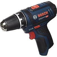 Bosch Professional GSR 10,8-2-LI Trapano Avvitatore a Batteria, 12 V, senza Batteria e Caricabatterie, Blu