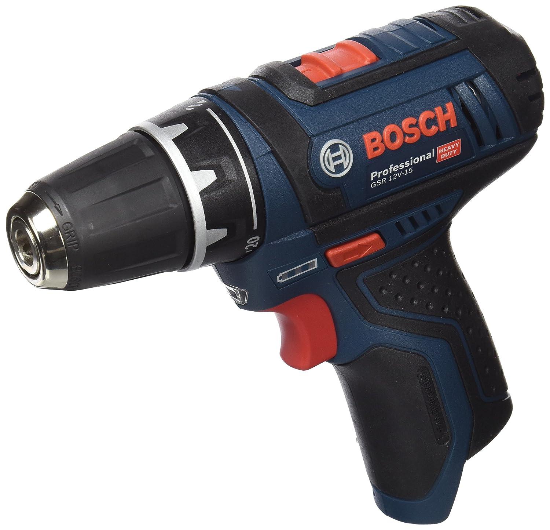 Bosch Professional 601868109 Atornillador a baterí a, 48 W, 12 V, Negro, Azul GSR 12-2-LI Professional Atornillador taladrador a batería Bosch Profesional atornillador electrico atornillador electrico Bosch taladro batería taladros Bosch