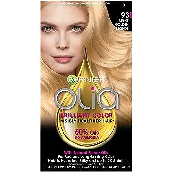 amazon com garnier olia ammonia free hair color 9 3 light golden