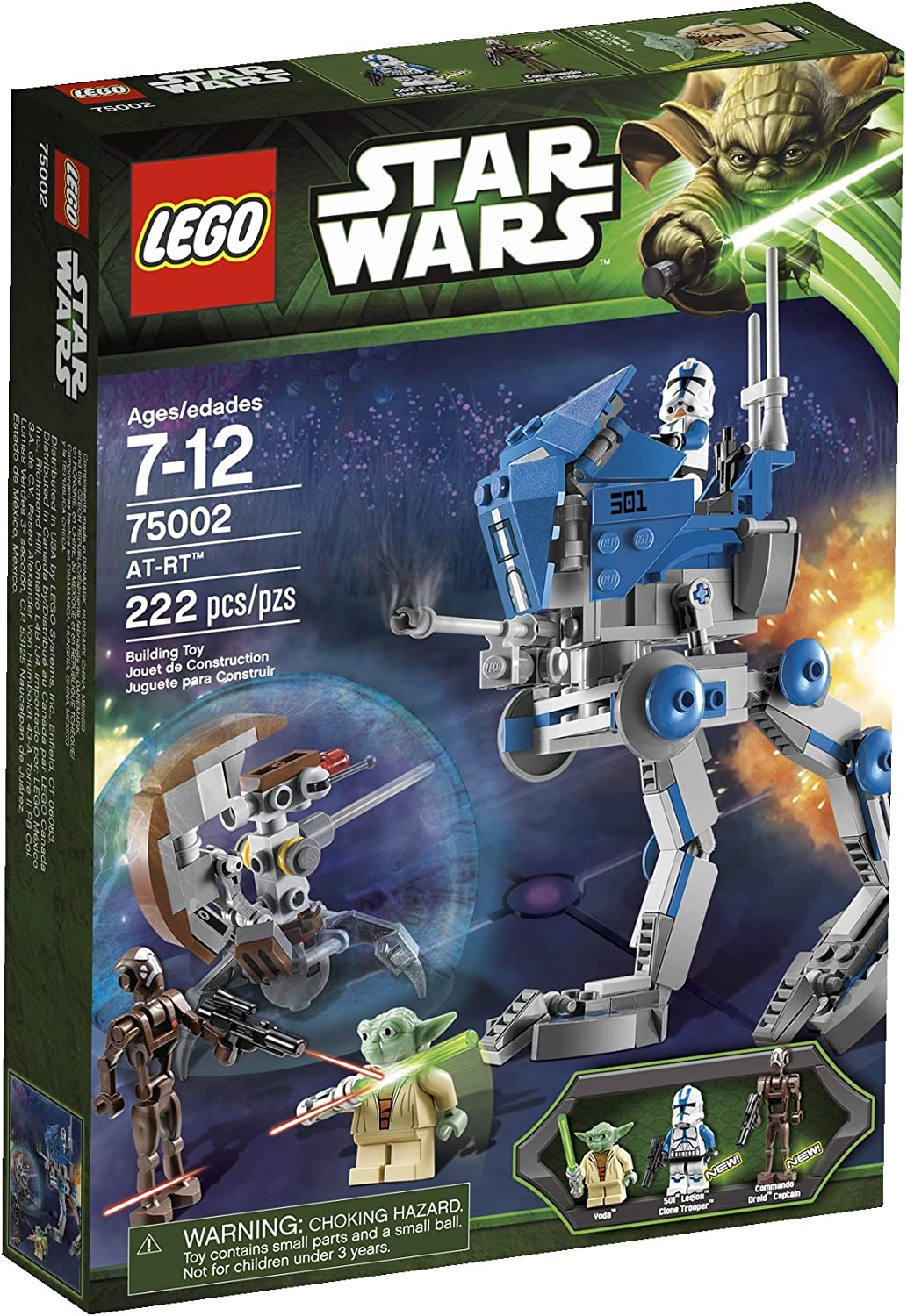 Amazon.com: LEGO Star Wars AT-RT 75002 (discontinuado por el ...