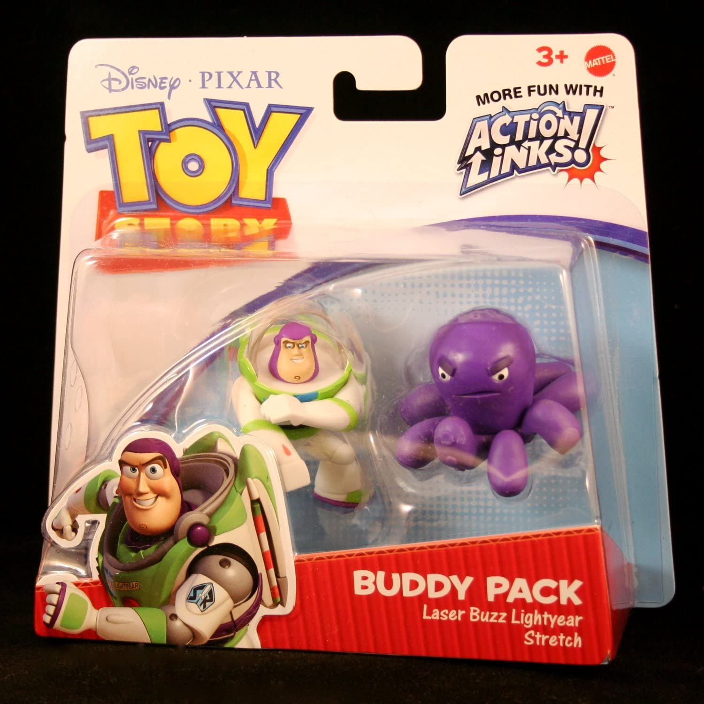 Disney Toy Story 3 Pack de Amigos - Buzz Lightyear and Stretch ...