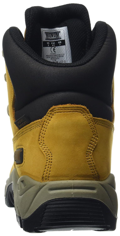 Magnum Precision Sitemaster Composite Toe, Unisex-Erwachsene Sicherheitsstiefel, Sicherheitsstiefel, Sicherheitsstiefel, Beige (Honey), 43 EU - a06095
