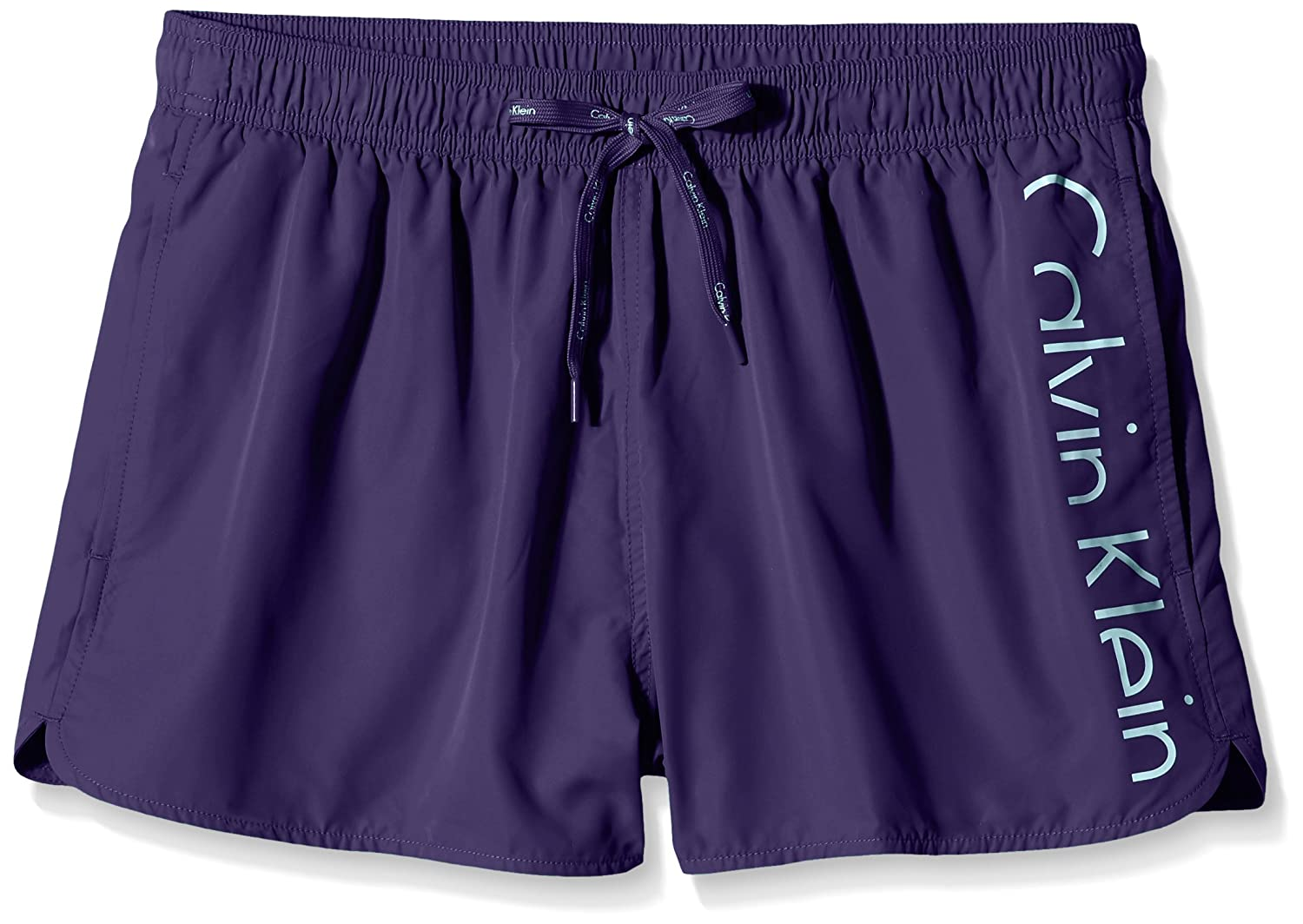 Calvin Klein Men's Placed Logo Drawstring Swim Shorts