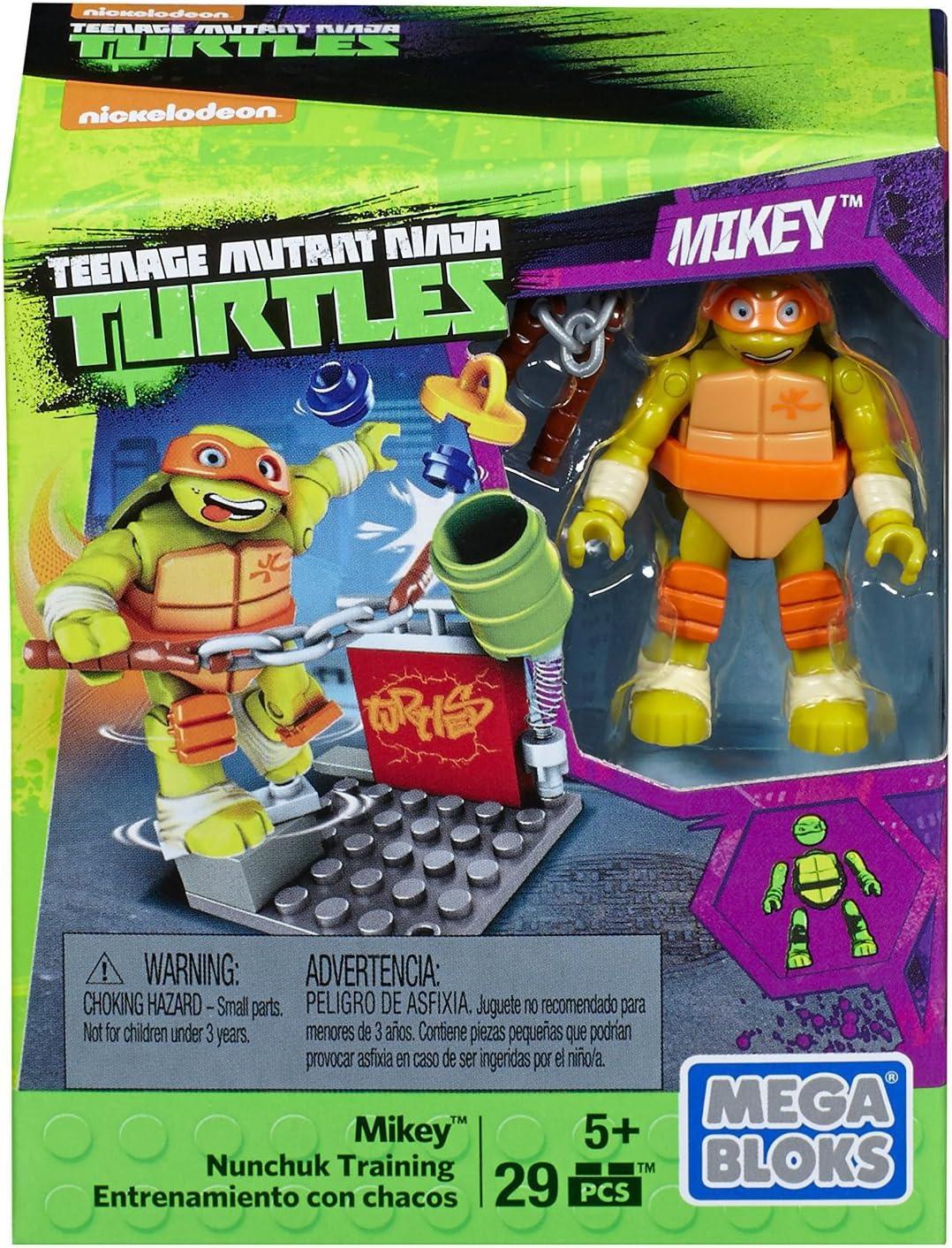 Amazon.com: Mega construx Teenage Mutant Ninja Turtles Mikey ...