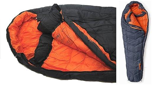 Expedition Himalaya Mummy Sleeping Bag extrem: Amazon.es ...