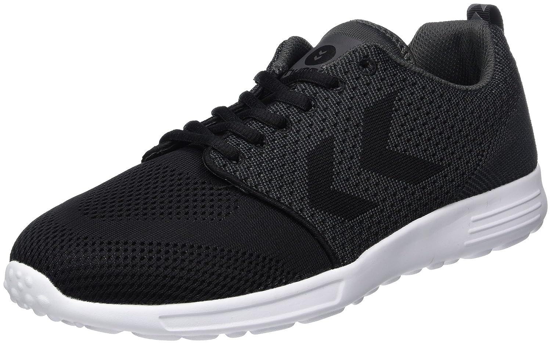 Hummel Zeroknit II, Sneakers Basses Mixte Adulte, (Black), 42 EU