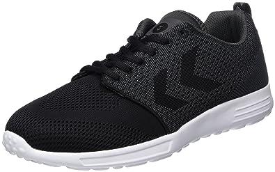 Zeroknit II, Sneakers Basses Mixte Adulte, Blanc (White), 37 EUHummel