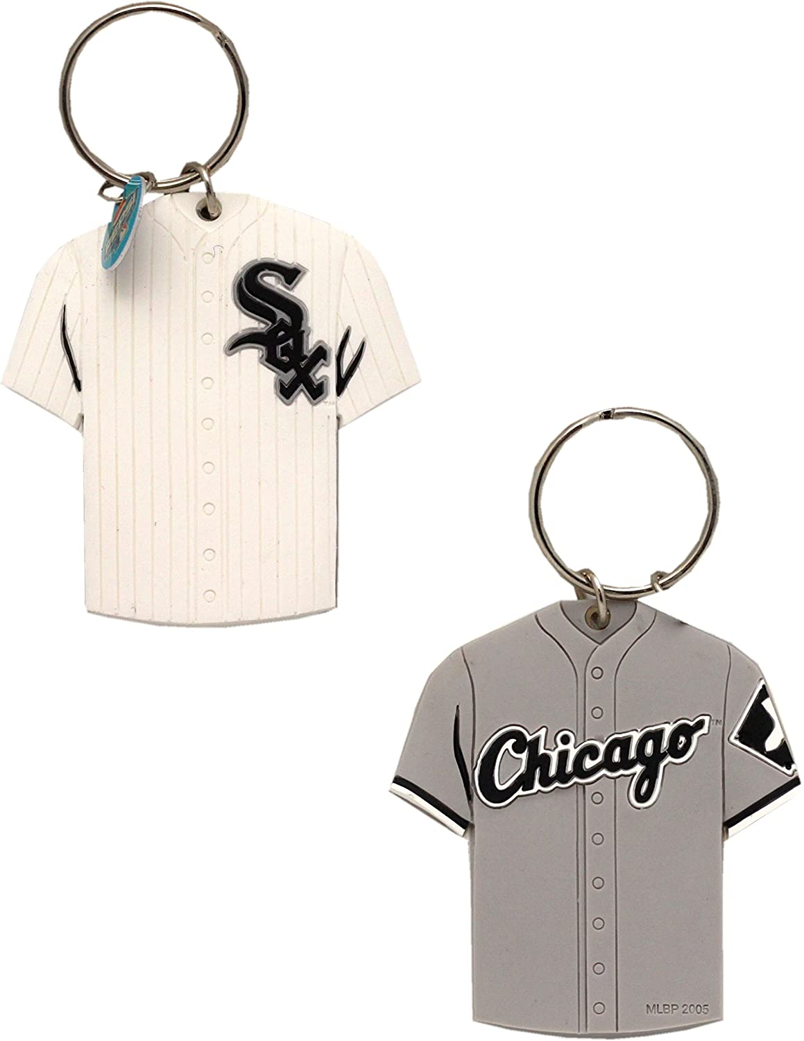 Chicago White Sox Key Chain Jersey 2-Sided 5487