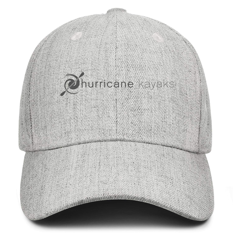 Adjustable Baseball Cap Wool Snapback Dad Hat Sports Unconstructed Trucker Hat Hurricane-Logo