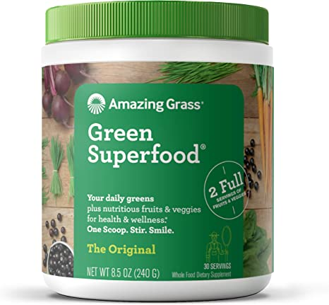 Amazing Grass Green Superfood provides useful nutrients for your body