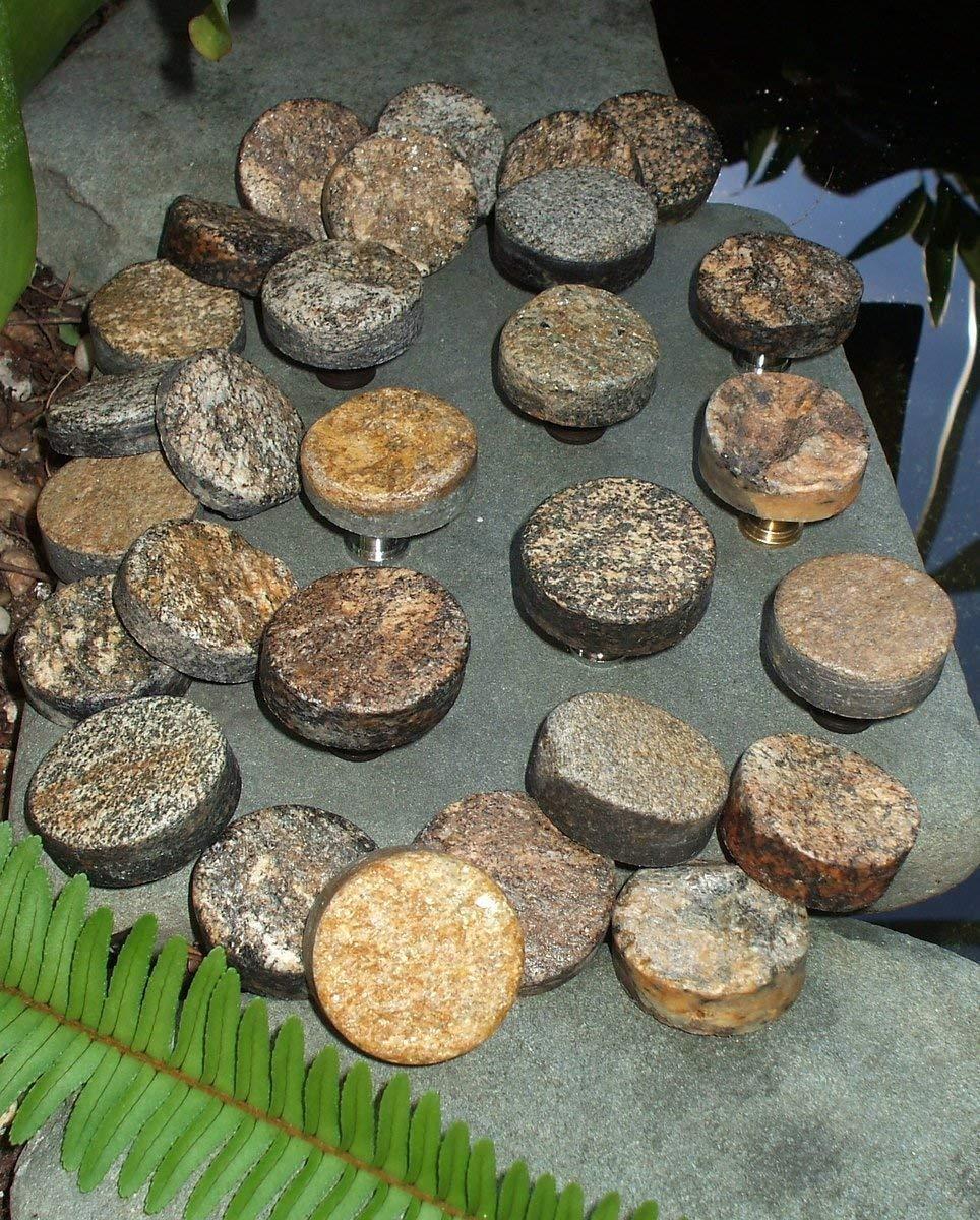 Creekside Collection Natural Stone Knob Smokey Grey