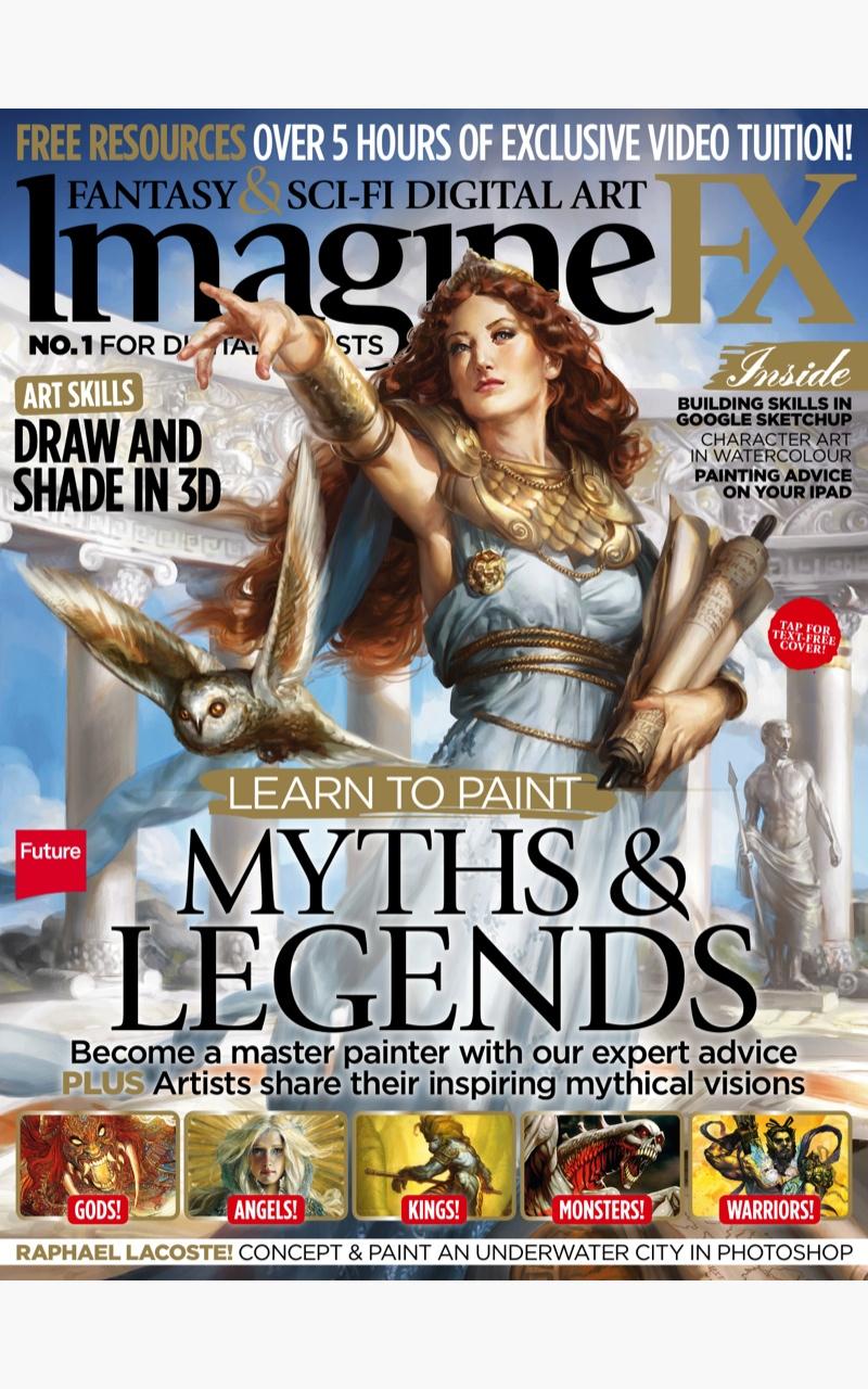 Imaginefx Sci Fi Fantasy Art Magazine Import It All