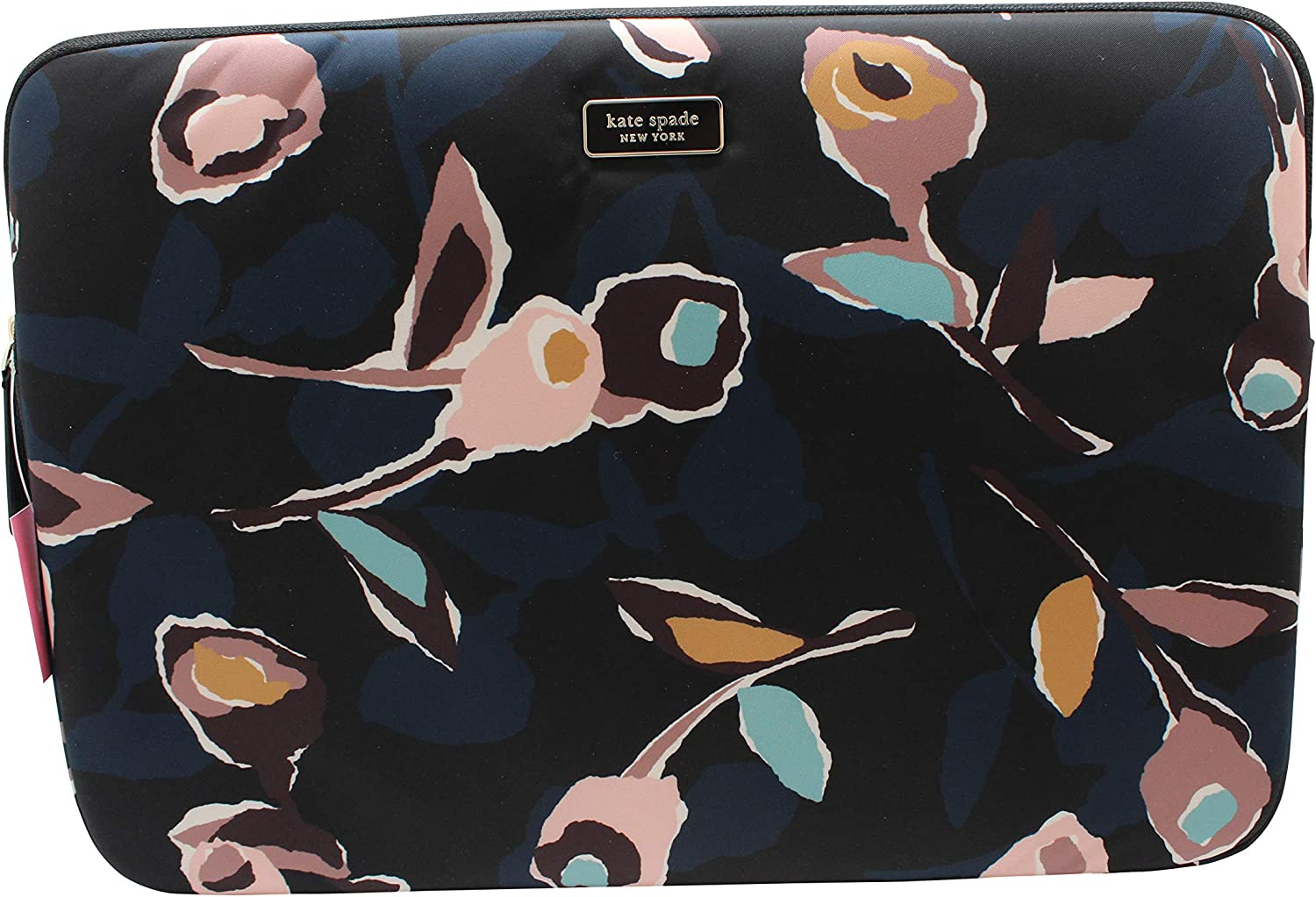 Kate Spade New York Dawn Rose Laptop Case Sleeve Black Multi 13