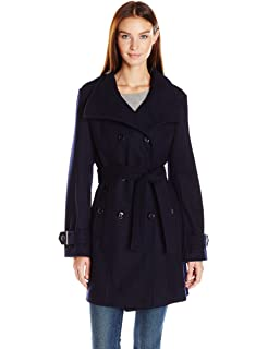 025d67e461364 Steve Madden Women s Single Breasted Wool Coat  Amazon.ca  Clothing ...
