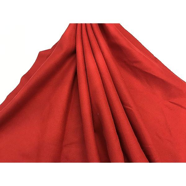 telas por metros PAÑO REGIONAL LANA rojo: Amazon.es: Hogar