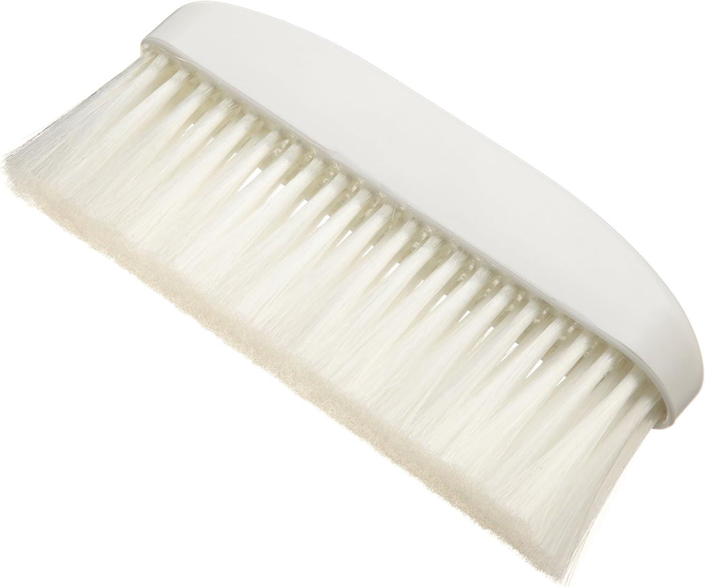 Ateco Bench Brush, 1 3/4 x 9 1/2-Inch Head with White Nylon Bristles & Molded Plastic Handle