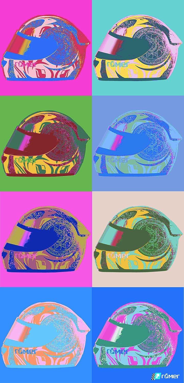 Roleff Racewear 403 Sciarpa Tubolare Multifunzione Popart, Colorato, Dimensioni Uniformi Roleff Römer