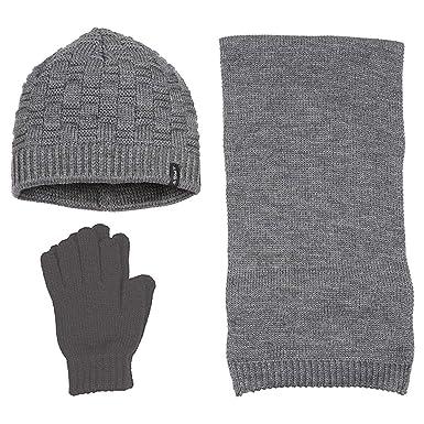 10b0e6e58af Suyutti Women's 3 Piece Winter Set - Beanie Hat, Scarf, Mittens ...