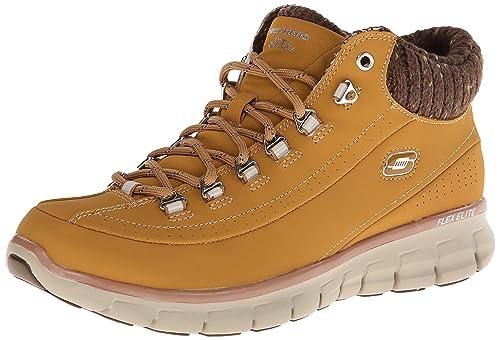 Details zu NEU SKECHERS Damen Sneakers Winterboots Memory Foam SYNERGY ARCTIC WINTER Grau