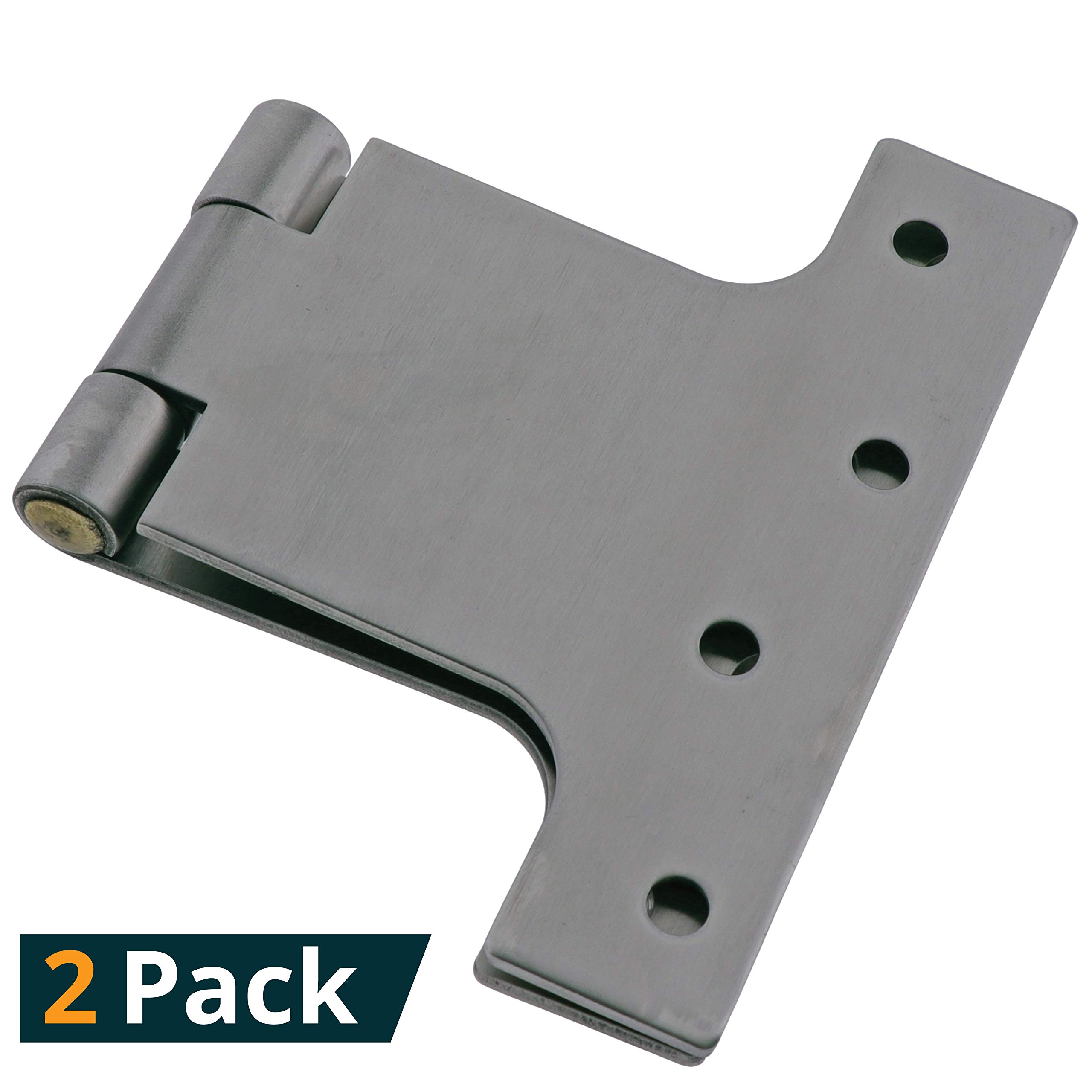 316 Stainless Steel Parliament/Butterfly Hinge (2 Pack) - Indestructible Material Suitable for All Environments - The Hardware Mart (20010)