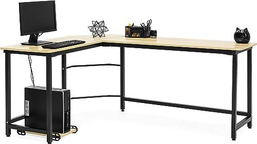 Best Choice Products Modern L-Shaped Corner Desk w/CPU Stand