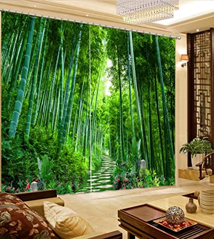 Amazon.com: Wapel Beautiful Living Room Curtains 3D Curtains ...